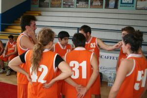 La squadra di Milano vincitrice del torneo nella categoria senior