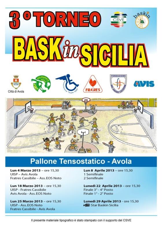 BAskin torneo nuovo