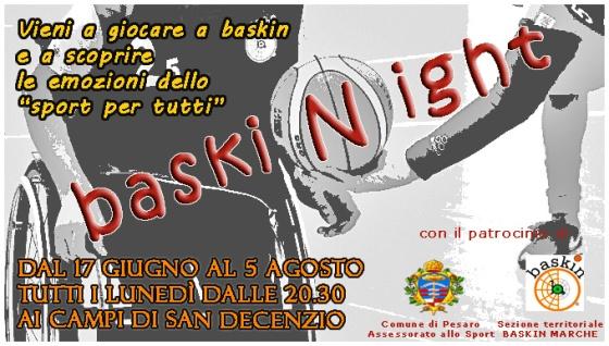 Locandina baskiNight