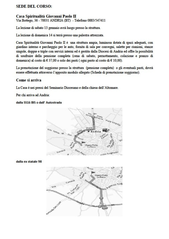 corso andria info