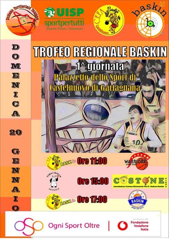 trofeo regionale baskin toscana
